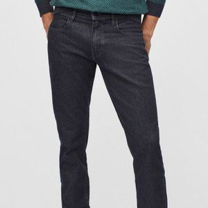 Bonobos Travel Jeans midnight black straight fit